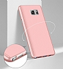 Eiroo Protect Fit Samsung Galaxy Note 5 360 Derece Koruma Kırmızı Rubber Kılıf - Resim 1