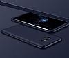 Eiroo Protect Fit Samsung Galaxy Note 8 360 Derece Koruma Lacivert Rubber Kılıf - Resim 1