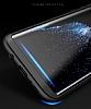 Eiroo Protect Fit Samsung Galaxy Note 8 360 Derece Koruma Lacivert Rubber Kılıf - Resim 3