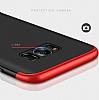 Eiroo Protect Fit Samsung Galaxy Note 8 360 Derece Koruma Lacivert Rubber Kılıf - Resim 2