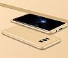 Eiroo Protect Fit Samsung Galaxy Note 8 360 Derece Koruma Gold Rubber Kılıf - Resim 5
