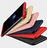 Eiroo Protect Fit Samsung Galaxy Note 8 360 Derece Koruma Lacivert Rubber Kılıf - Resim 5