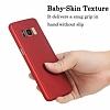 Eiroo Protect Fit Samsung Galaxy S8 360 Derece Koruma Kırmızı Rubber Kılıf - Resim 3