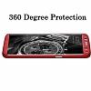 Eiroo Protect Fit Samsung Galaxy S8 360 Derece Koruma Kırmızı Rubber Kılıf - Resim 1