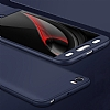 Eiroo Protect Fit Xiaomi Mi 5 360 Derece Koruma Lacivert Rubber Kılıf - Resim 2