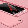 Eiroo Protect Fit Xiaomi Mi 5 360 Derece Koruma Rose Gold Rubber Kılıf - Resim 2