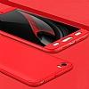 Eiroo Protect Fit Xiaomi Mi 5 360 Derece Koruma Kırmızı Rubber Kılıf - Resim 2