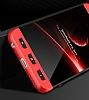 Eiroo Protect Fit Xiaomi Mi 5X / Mi A1 360 Derece Koruma Siyah-Kırmızı Rubber Kılıf - Resim 2