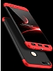 Eiroo Protect Fit Xiaomi Mi 5X 360 Derece Koruma Siyah-Kırmızı Rubber Kılıf - Resim 1