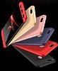 Eiroo Protect Fit Xiaomi Mi 5X / Mi A1 360 Derece Koruma Siyah-Kırmızı Rubber Kılıf - Resim 7