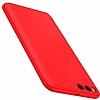 Eiroo Protect Fit Xiaomi Mi 6 360 Derece Koruma Kırmızı Rubber Kılıf - Resim 1