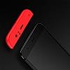 Eiroo Protect Fit Xiaomi Mi 6 360 Derece Koruma Kırmızı Rubber Kılıf - Resim 2