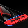 Eiroo Protect Fit Xiaomi Mi 6 360 Derece Koruma Kırmızı Rubber Kılıf - Resim 3