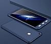Eiroo Protect Fit Xiaomi Mi Max 2 360 Derece Koruma Lacivert Rubber Kılıf - Resim 1