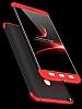 Eiroo Protect Fit Xiaomi Mi Max 2 360 Derece Koruma Lacivert Rubber Kılıf - Resim 2