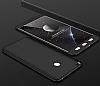 Eiroo Protect Fit Xiaomi Mi Max 2 360 Derece Koruma Siyah Rubber Kılıf - Resim 1