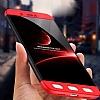 Eiroo Protect Fit Xiaomi Redmi 4X 360 Derece Koruma Kırmızı Rubber Kılıf - Resim 4