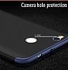 Eiroo Protect Fit Xiaomi Redmi 4X 360 Derece Koruma Lacivert Rubber Kılıf - Resim 1