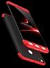 Eiroo Protect Fit Xiaomi Redmi 4X 360 Derece Koruma Kırmızı Rubber Kılıf - Resim 5