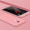 Eiroo Protect Fit Xiaomi Redmi Note 4 / Redmi Note 4X 360 Derece Koruma Rose Gold Rubber Kılıf - Resim 3