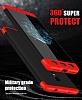 Eiroo Protect Fit Xiaomi Redmi Note 4 / Redmi Note 4x 360 Derece Koruma Siyah Rubber Kılıf - Resim 3