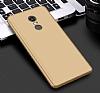 Eiroo Protect Fit Xiaomi Redmi Note 4 / Redmi Note 4x 360 Derece Koruma Gold Rubber Kılıf - Resim 5