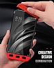 Eiroo Protect Fit Xiaomi Redmi Note 4 / Redmi Note 4x 360 Derece Koruma Siyah Rubber Kılıf - Resim 1