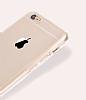 Eiroo Protection iPhone 6 / 6S 360 Derece Koruma Şeffaf Silikon Kılıf - Resim 2
