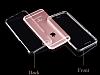 Eiroo Protection iPhone 6 / 6S 360 Derece Koruma Şeffaf Silikon Kılıf - Resim 6