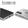 Eiroo Protection iPhone X 360 Derece Koruma Silikon Kılıf - Resim 2