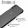 Eiroo Protection iPhone X 360 Derece Koruma Silikon Kılıf - Resim 1