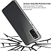Eiroo Protection Samsung Galaxy S20 360 Derece Koruma Şeffaf Silikon Kılıf - Resim 2