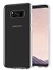 Eiroo Protection Samsung Galaxy S8 360 Derece Koruma Şeffaf Silikon Kılıf - Resim 3