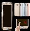 Eiroo Protection Samsung Note 5 360 Derece Koruma Şeffaf Gold Silikon Kılıf - Resim 1