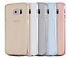 Eiroo Protection Samsung Note 5 360 Derece Koruma Şeffaf Gold Silikon Kılıf - Resim 2
