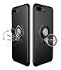 Eiroo Q-Armor iPhone 7 Plus / 8 Plus Selfie Yüzüklü Ultra Koruma Gold Kılıf - Resim 2