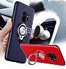 Eiroo Q-Armor Samsung Galaxy S9 Selfie Yüzüklü Ultra Koruma Siyah Kılıf - Resim 5