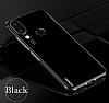 Eiroo Radiant Huawei P20 Lite Siyah Kenarlı Şeffaf Silikon Kılıf - Resim 4
