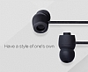 Eiroo Rainbow Siyah Mikrofonlu Kulakiçi Kulaklık - Resim 3