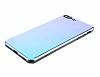 Eiroo Reflection iPhone 7 Plus Tam Kenar Koruma Mavi Rubber Kılıf - Resim 2