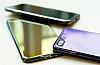 Eiroo Reflection iPhone 7 Plus Tam Kenar Koruma Mavi Rubber Kılıf - Resim 3