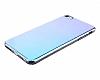 Eiroo Reflection iPhone 7 Tam Kenar Koruma Mavi Rubber Kılıf - Resim 1