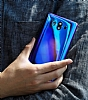 Eiroo Reflection Samsung Galaxy Note 8 Tam Kenar Koruma Siyah Rubber Kılıf - Resim 4