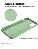 Eiroo Ring Color Samsung Galaxy Note 10 Plus Yüzük Tutuculu Yeşil Silikon Kılıf - Resim 2