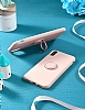 Eiroo Ring Color Samsung Galaxy Note 10 Plus Yüzük Tutuculu Yeşil Silikon Kılıf - Resim 5