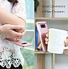 Eiroo Ring Fit Samsung Galaxy S8 Plus Selfie Yüzüklü Siyah Rubber Kılıf - Resim 9