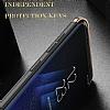 Eiroo Ring Fit Samsung Galaxy S8 Plus Selfie Yüzüklü Siyah Rubber Kılıf - Resim 7