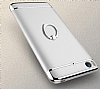 Eiroo Ring Fit Xiaomi Mi 5s Selfie Yüzüklü Gold Rubber Kılıf - Resim 5
