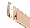 Eiroo Ring Fit Xiaomi Mi 5s Selfie Yüzüklü Gold Rubber Kılıf - Resim 4