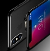 Eiroo Ring Laser iPhone 6 / 6S Selfie Yüzüklü Siyah Silikon Kılıf - Resim 3
